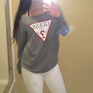 Long Sleeve Guess T